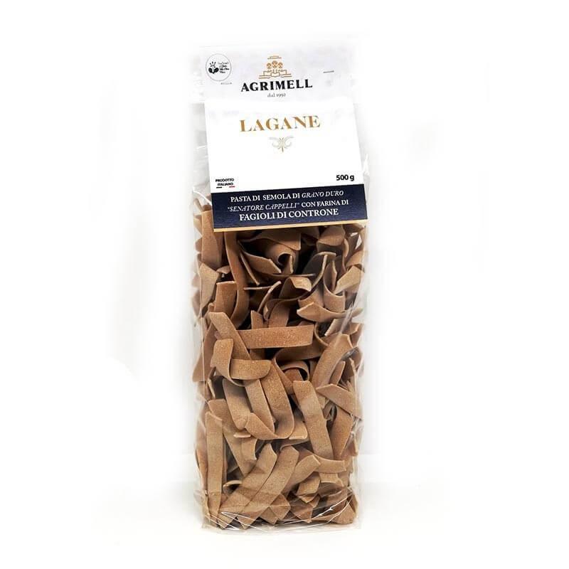 Lagane di grano Senatore Cappelli e farina di Fagiolo di Controne-6,95€