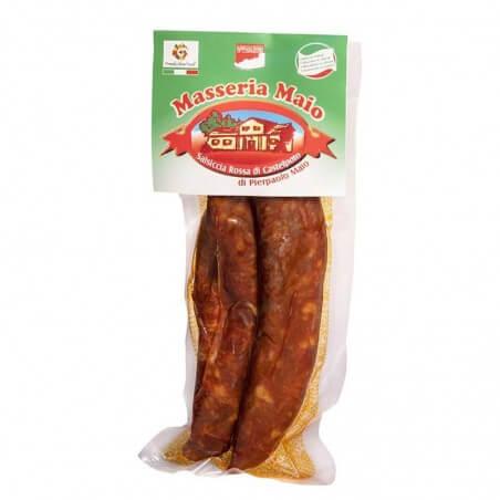 """Salsiccia di Castelpoto Dolce """"Presidio Slow Food""""-8,45€"""