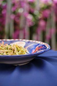 Scialatielli al pinzimonio con granella di nocciola, filetto di tonno e zest di limone 2