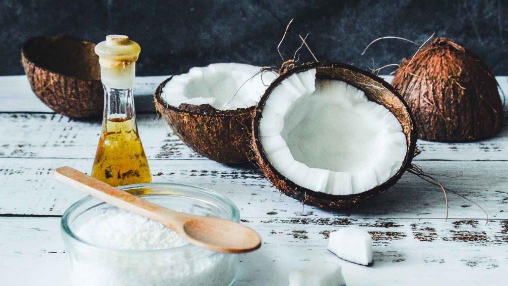 Tipi di olio: cocco